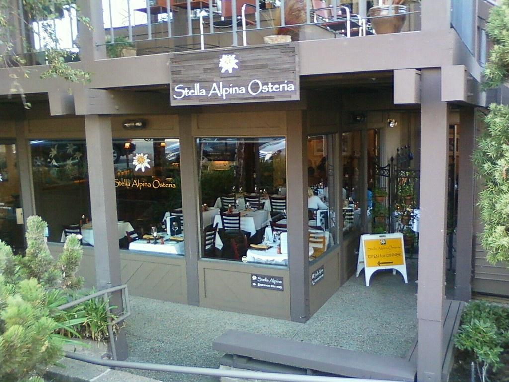 Stella Alpina Osteria Burlingame Library Plaza | Stella Alpi… | Flickr