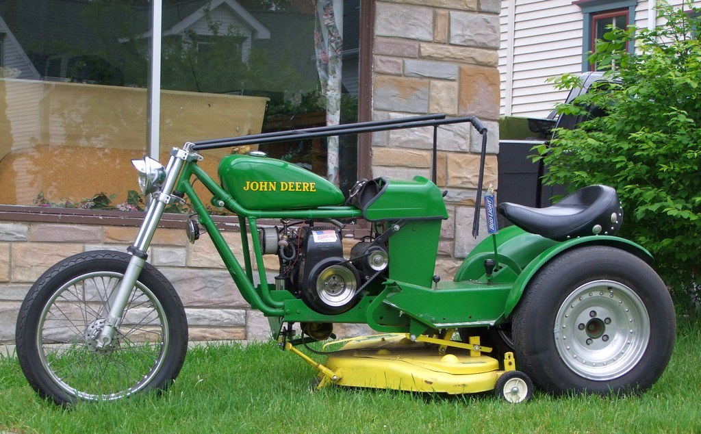 lawn mower motor bike. Black Bedroom Furniture Sets. Home Design Ideas