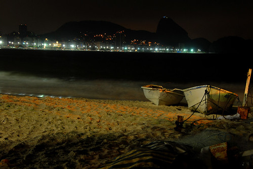 Copacabana Beach in the night | by jdelrioluelmo