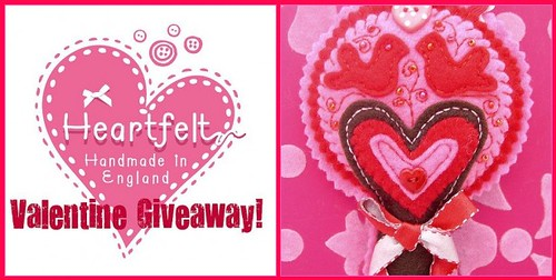Valentine Giveaway - WIN THIS!! | by heartfelthandmade