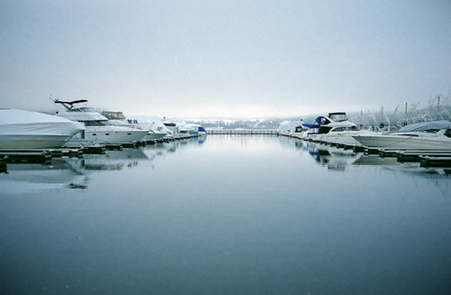 Winter Docks | by Brian Auer