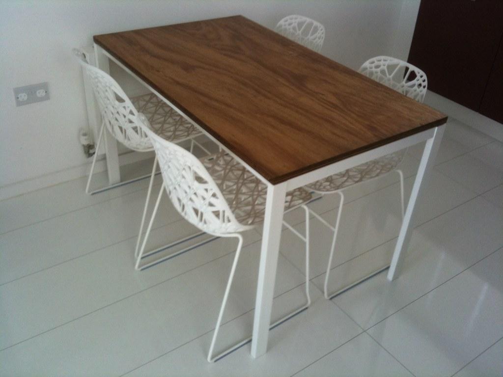 diy ikea table flickr. Black Bedroom Furniture Sets. Home Design Ideas