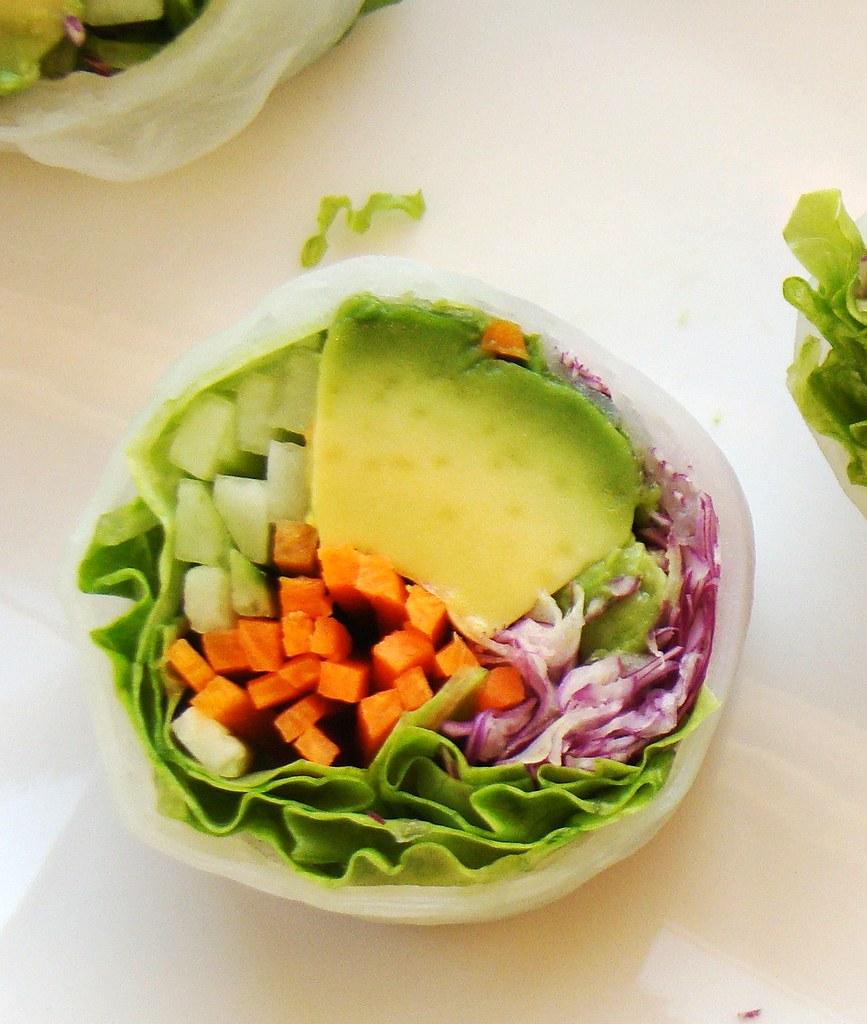 Vegan California Roll in Rice Paper | Vegan Art | Vegan Feast ...