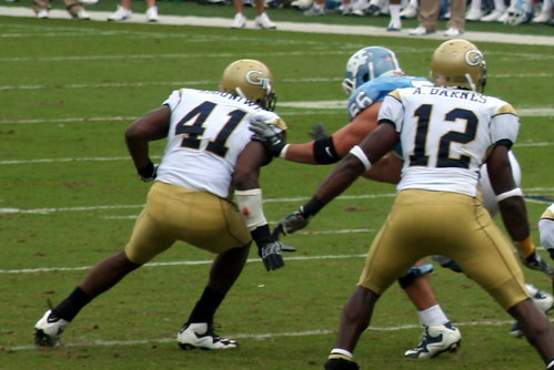 GT v UNC 2009 | by hectorir