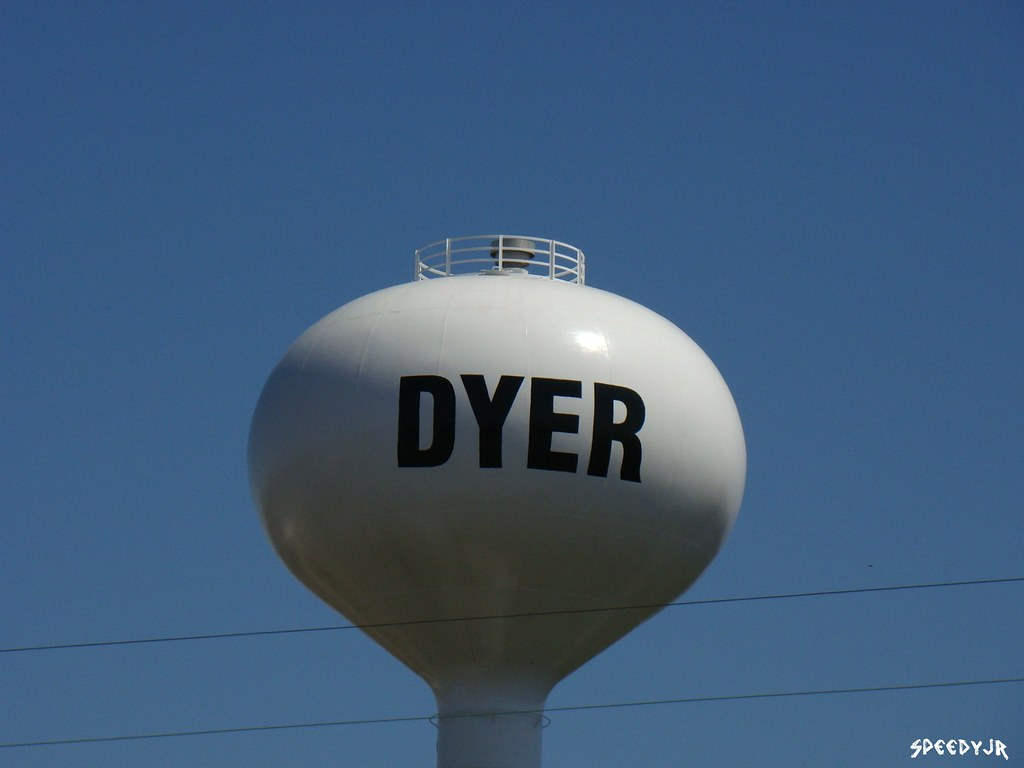 Indiana lake county dyer - Watertower Dyer Indiana