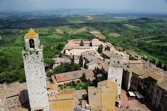 Paisaje de San Gimignano III