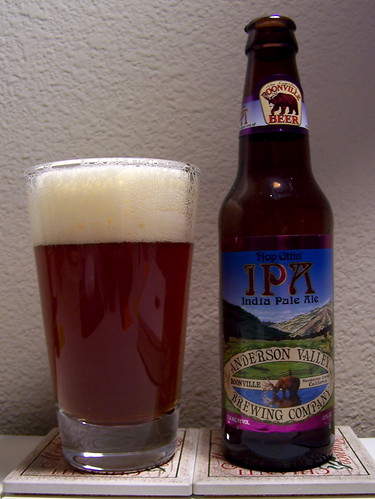 Anderson Valley Brewing Co. Hop Ottin' IPA | by Must Love Beer