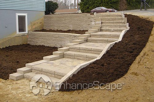 ... Outdoor Stair Ideas | By EnhanceScape.com