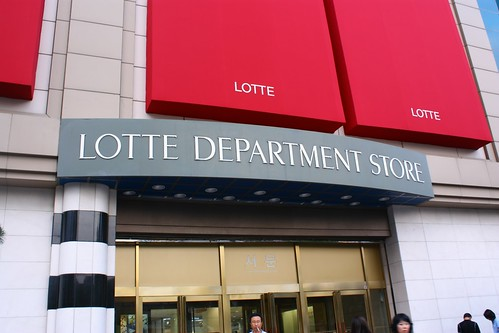 Lotte Department Store in Hanti
