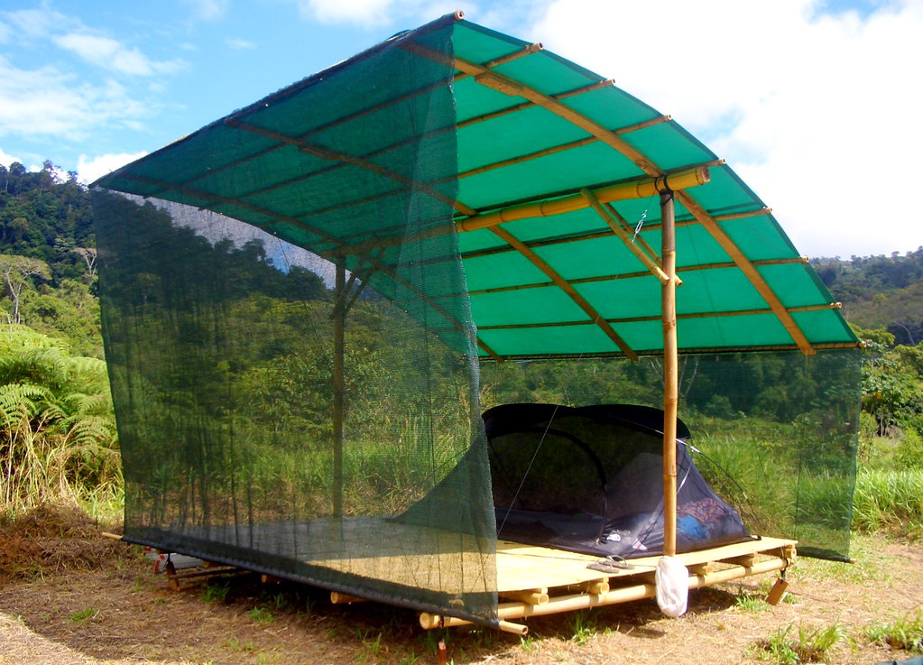... Tent platform from bamboo | by Simply Loving Living Life & Tent platform from bamboo | Eric Rivkin | Flickr