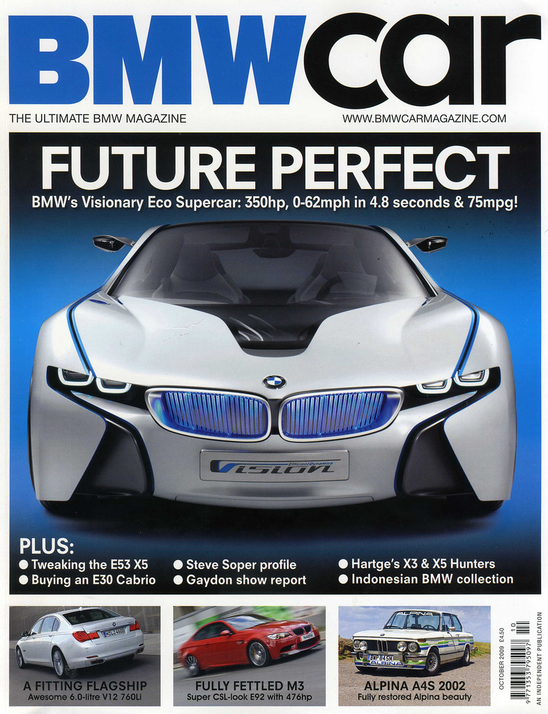 Bmw Car Magazine The Alpina A4s Featured In This Month S B Flickr