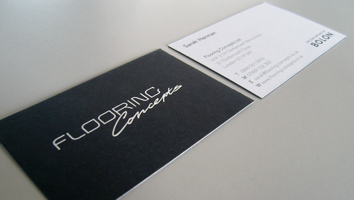 flooring concept business cards by fuse design - Flooring Business Cards