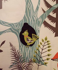 Forest Friends Fabric - Bird in a Tree | by Stitchy McYarnpants