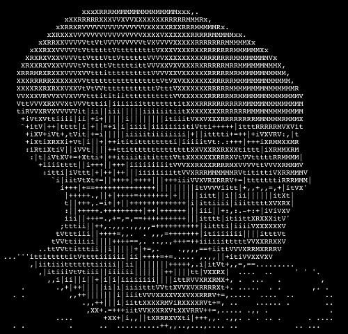 One Line Ascii Art Star Wars : The sunny spot ascii art largest compendium of s