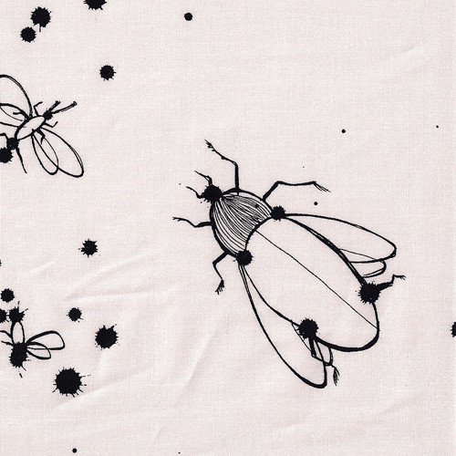 Inky Wings Alexander Henry fabric | by Phat fabric