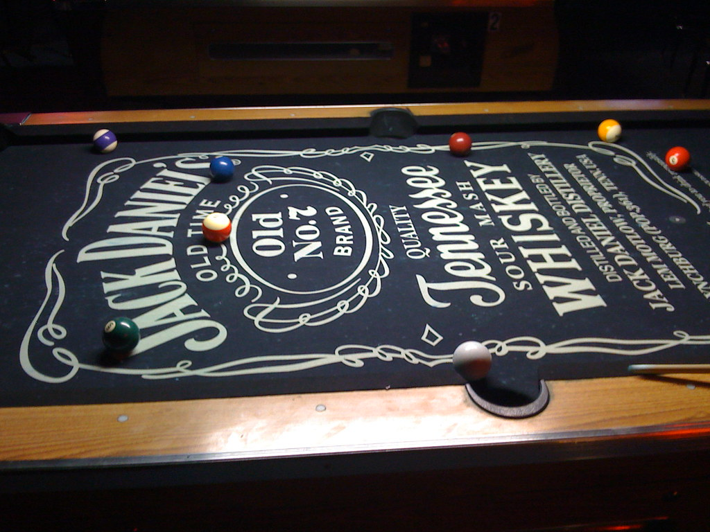 Jack Daniels Pool Table Nathan Cooper Flickr - Jack daniels pool table