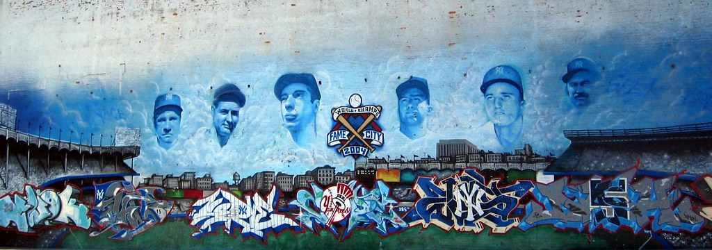 ... Bronx   Yankee Stadium: Parking Lot   Mural | By Wallyg Part 15