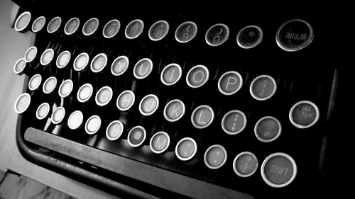 Typewriter Keys | by welcometoalville
