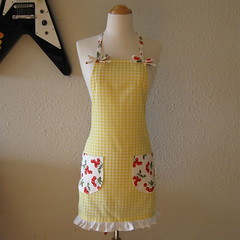 Vintage Cherries Apron | by *Panhandler*