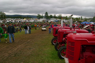 tractors almost as far as the eye can see | by so wabi sabi
