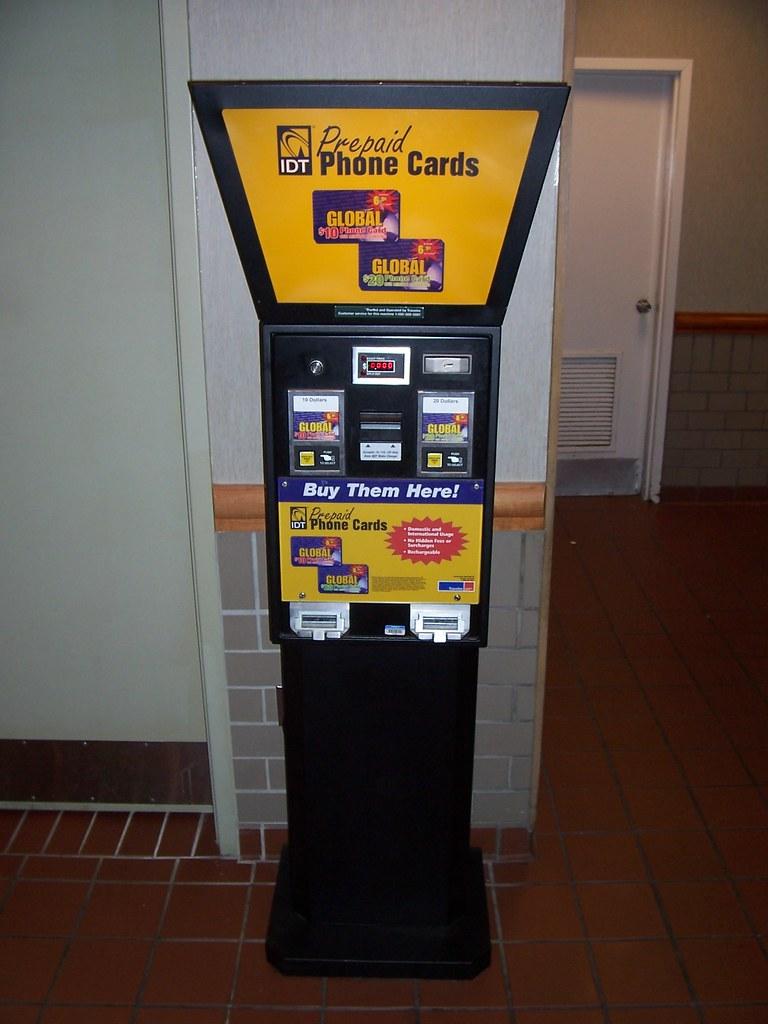Prepaid Phone Cards Vending Machine   A Prepaid phone card m…   Flickr