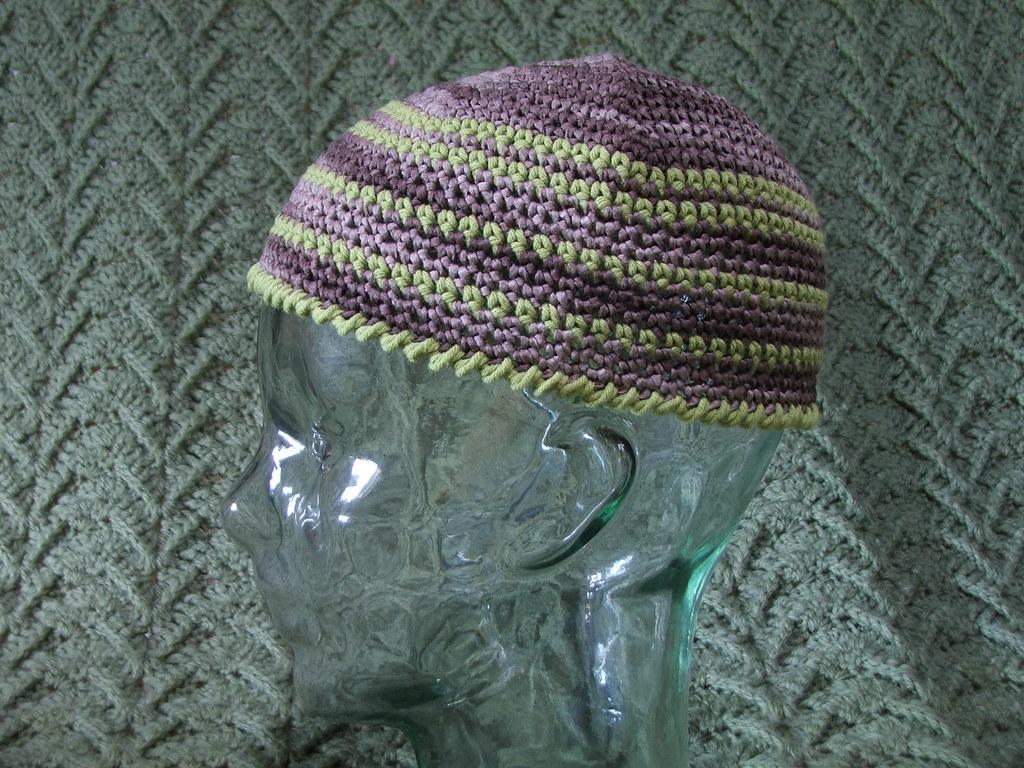 Crochet Hat Skull Cap 100 Cotton Crochet Hat Skull Cap Ww Flickr