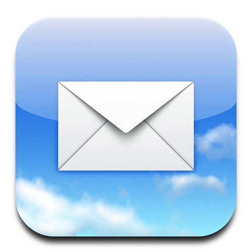 Mail icon | by Sebastiaan de With