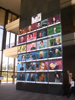 TED2009 speaker wall | by Rickshaw Bagworks
