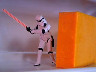 Cutting The Cheese | by JD Hancock