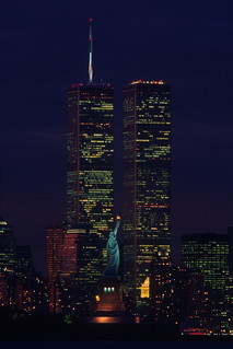 JP0897 Statue of Liberty & World Trade Center - New York NY | by pobereskin