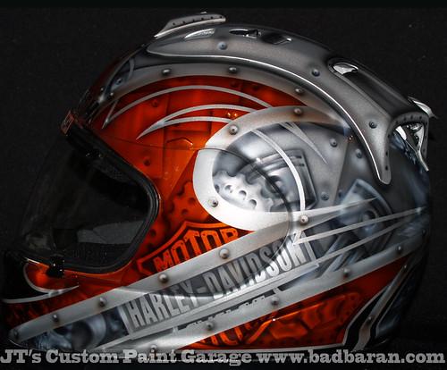 Custom Harley Bagger Paint Jobs