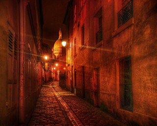 Walking the Streets of France After Dark | by Stuck in Customs