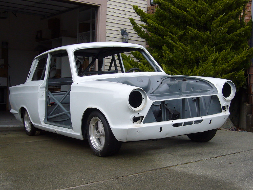 1966 Ford Cortina Mk1 SCCA Race Car Project For Sale Front…   Flickr