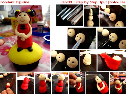 [Tutorial] How to Make Fondant figurine | by Ipoet
