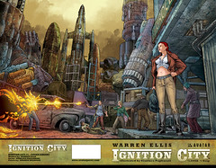 Ignition City #1 Wrap | by Avatar Press