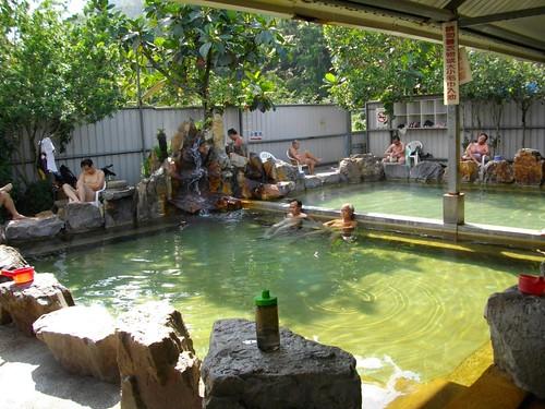 礁溪 春和HOTEL 日式大浴池 大衆池(温泉露天風呂)