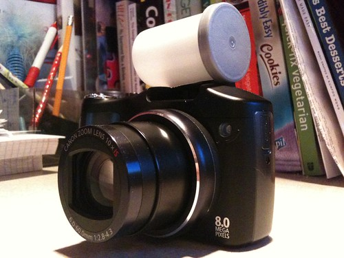60 second DIY flash diffuser | by Brad.K