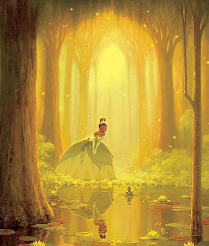 Princess Tiana Art: The Princess And The Frog(New Princess Tiana And The Frog