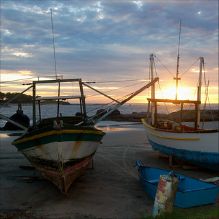 old boats at dawn... | by @petra (away)