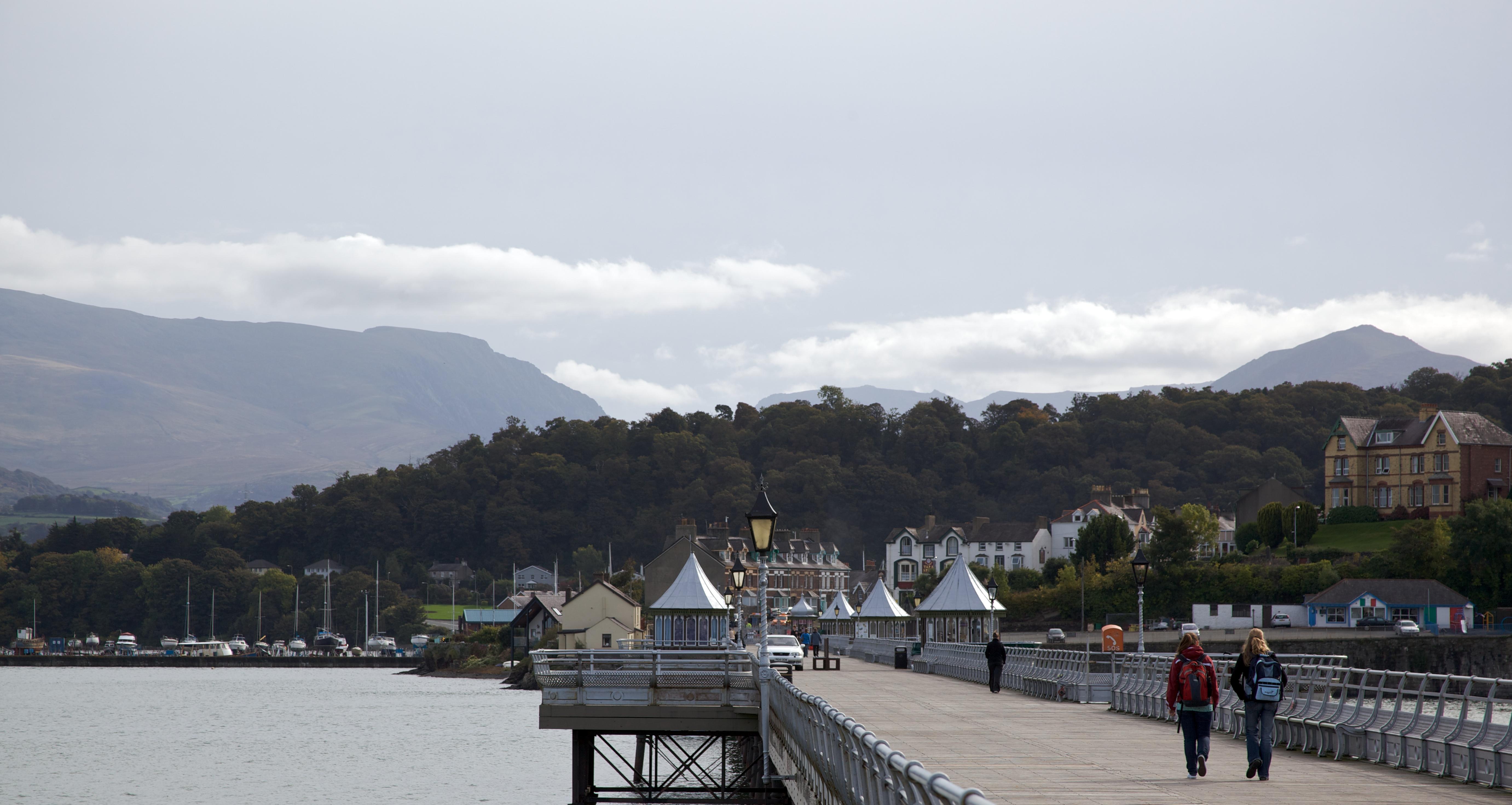 Bangor's Garth Pier