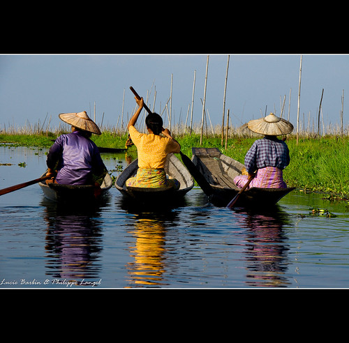 In the floating gardens - Inle Lake - Myanmar | by Lucie et Philippe