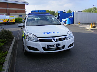 (1130) GMP - Greater Manchester Police - Vauxhall Astra response car - MX08 EOT | by Call the Cops 999