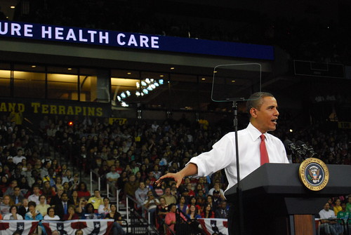Obama at Healthcare rally at UMD | by borman818