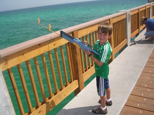Gehrig Fishing Off The Panama City Beach Pier Still