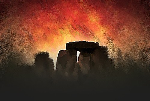 Stonehenge | by fulcolorabstract2.