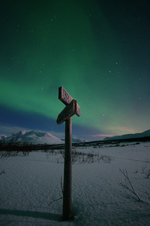 This way to the Aurora Borealis | by Kent Vegard Evjen