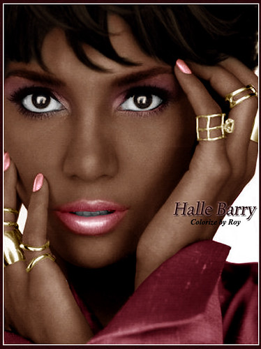 Halle Barry Pink | by CATTYROY