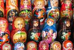 Matryoshka dolls, Moscow | by neiljs