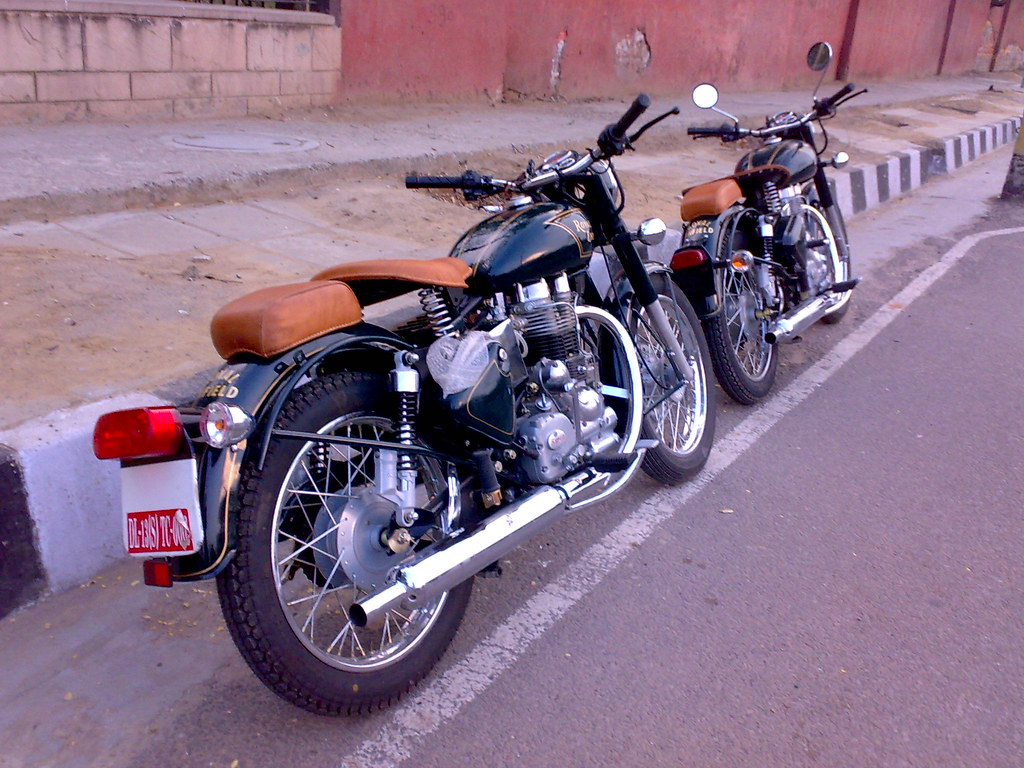 Royal Enfield with Vintage style kit. Recently done | Flickr