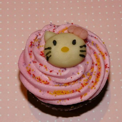 Hello Kitty Buttercream Cake Recipe